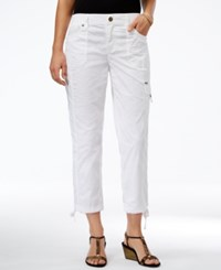 Styleandco. Style Co. Cropped Slim Fit Pants Only At Macy's Bright White