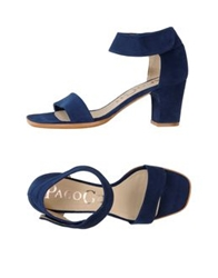 Paco Gil High Heeled Sandals Blue