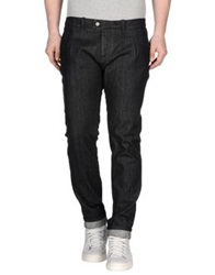 Paolo Pecora Denim Pants Black