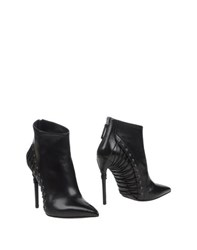 Gianmarco Lorenzi Footwear Ankle Boots Women Black