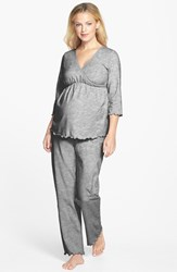 Women's Japanese Weekend Maternity Nursing Pajamas