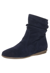Kmb Dalia Boots Suede Henry Dark Blue