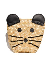 Pixie Market Mouse Raffia Novelty Bag