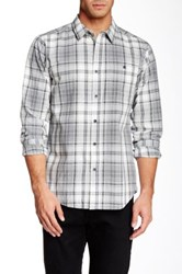 Ezekiel Oaklen Long Sleeve Classic Fit Shirt Gray