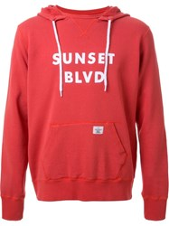 Bedwin And The Heartbreakers Hooded Sweatshirt Red