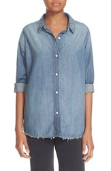 The Great Women's Great. Cotton Chambray Shirt