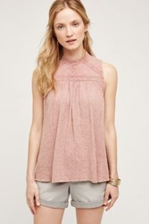 Anthropologie Sweetbriar Tank Pink