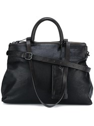 Marsell Zipped Tote Brown