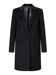 Jigsaw Sb City Wool Coat Black