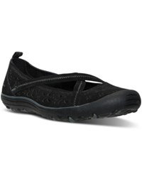 Skechers Women's Relaxed Fit Sustainability Casual Flats From Finish Line Black