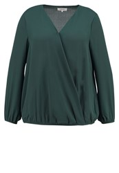 Zalando Essentials Curvy Blouse Dark Green