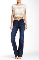 Level 99 Chloe Mid Rise Bootcut Jean Blue