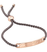 Monica Vinader Havana 18Ct Rose Gold Plated Friendship Bracelet