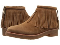 French Connection Vanessa Tan Split Suede Women's Shoes
