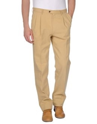 Marco Pescarolo Casual Pants Sand
