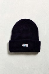 Urban Outfitters Hi Bye Icon Watch Cap Navy