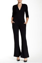 Weston Wear Encore Flared Leg Jumpsuit Black