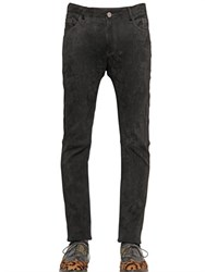 House Of Holland 16.5Cm Skinny Fit Suede Pants