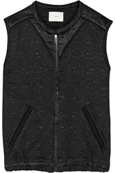 Iro Textured Cotton And Silk Blend Vest