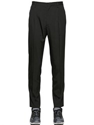 Lanvin Pleated Stretch Viscose Twill Pants