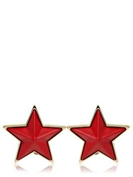 Givenchy Resin And Brass Star Cufflinks