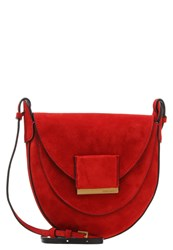 Coccinelle Bettina Across Body Bag Tomato Red