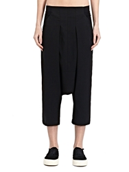 New Season Rick Owens Womens Woven Swing Low Crotch Pants