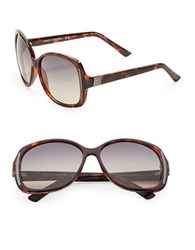 Vince Camuto 76Mm Oversized Sunglasses Brown