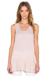The Great Flounce Tank Pink