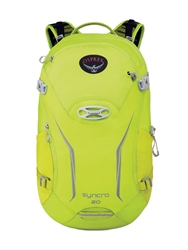 Osprey Syncro 20L Biking Backpack Fluo Green