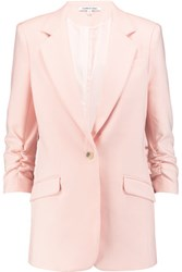 Elizabeth And James Twill Blazer Pastel Pink