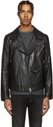 Tiger Of Sweden Jeans Black Leather Zuko Jacket