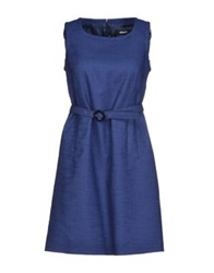 Allegri Short Dresses Blue
