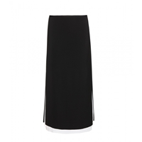 Edun Crepe Skirt Black