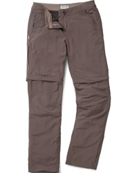 Craghoppers Nosilife Convertible Trousers Coffee