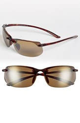 Men's Maui Jim 'Banyans Polarizedplus2' 67Mm Sunglasses Tortoise