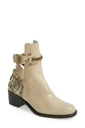 Plomo 'Bernadette' Leather Bootie Women Brown