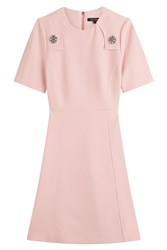 Tara Jarmon Dress With Embellishment Rose