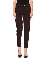 Pinko Black Trousers Casual Trousers Women Cocoa