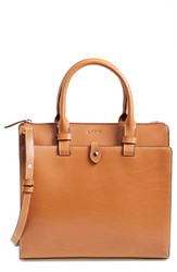 Lodis 'Linda Medium' Satchel Brown Toffee