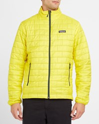 Patagonia Yellow Nano Puff Down Jacket