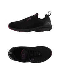 Emporio Armani Ea7 Low Tops And Trainers Black