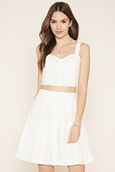 Forever 21 Contemporary Lace Skirt