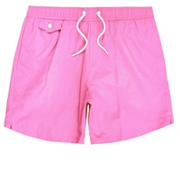 River Island Mens Pink Pocket Swim Shorts