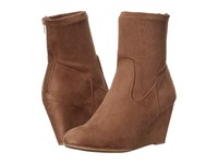 Chinese Laundry Upscale Camel Suedette Women's Boots Brown