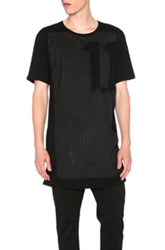11 By Boris Bidjan Saberi Nylon 11 Tee In Black