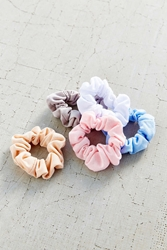 Urban Outfitters Days Of The Week Scrunchie Set Assorted