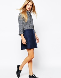 Jack Wills Wrap Kilt Navy