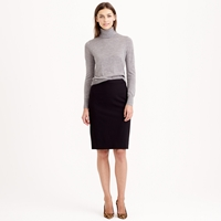 J.Crew Petite Pencil Skirt In Italian Stretch Wool