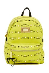 Betsey Johnson Studded Signature Mini Backpack Pink